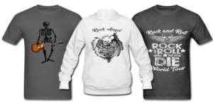 Custom promotional clothing apparel t-shirts tshirts hoodies tank tops long sleeve shirts and more.